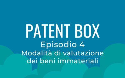 Patent box parte 4 – La valutazione dei beni immateriale seconda parte
