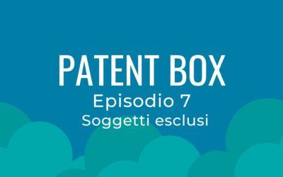 Patent box parte 7 – Soggetti esclusi