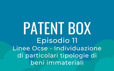 Patent Box parte 11 – Linee Ocse